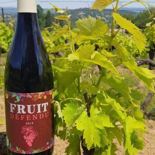 Fruit défendu vin bio rouge