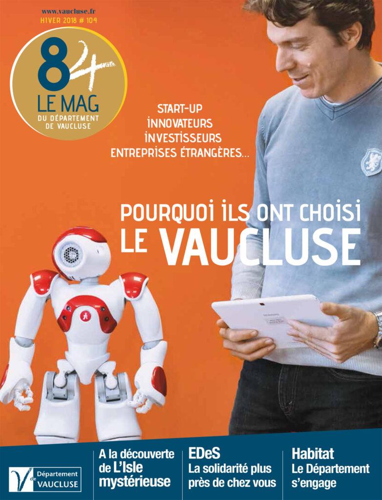 Le Mag Conseil Général du Vaucluse, hiver 2018